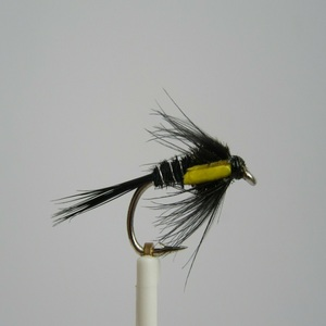 Fishing Flies 12 Orange Claret /& Yellow Choice of Sizes Hopper Trout Flies