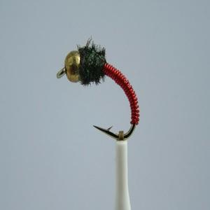 Brassie Gold Nugget Nymph Fly