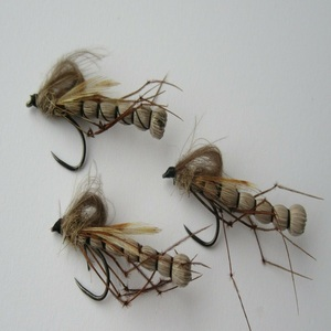 Drowning Daddy Long Legs Loop Dry Fly Barbless
