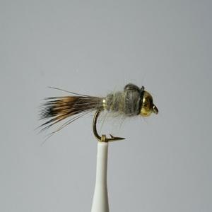 Goldhead Ribbed Hares Ear Nymph Fly