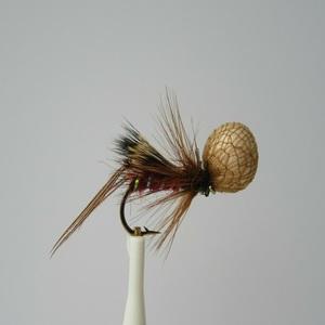 Hog Hopper Booby Claret Dry Fly