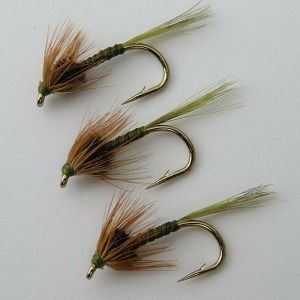 OKEY DOKEY Yellow Trout Buzzers Barbed Barbless Choice Of Size Qty Trout Flies