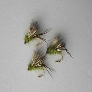 Olive Sedge Hog Dry Fly
