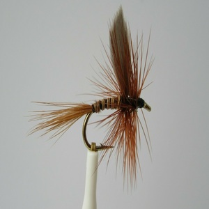 Winged Red Quill Dry Fly
