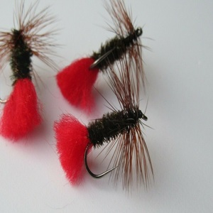Red Tag Dry Fly Barbless