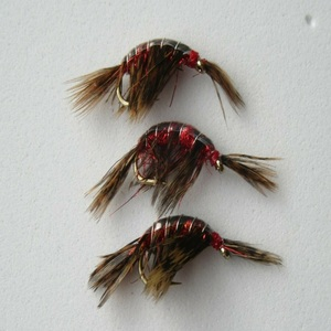 Shrimp Scud Red Nymph Fly