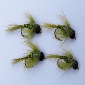 Tungsten Bead Olive Nymph