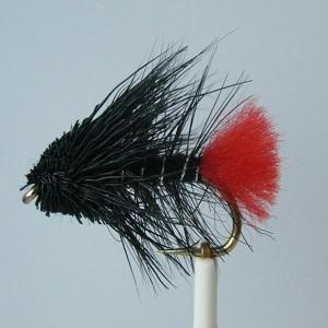 Zulu mini muddler fly black